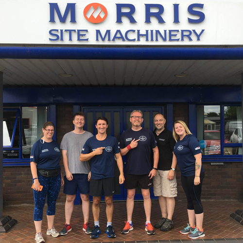 PRESS RELEASE: Morris Site Machinery's Million Pound Running Track