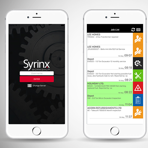 PRESS RELEASE: Point of Rental's Syrinx Workshop App Makes Maintenance Mobile