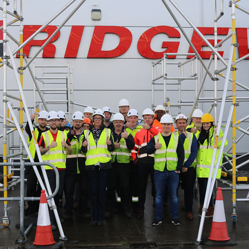 PRESS RELEASE: Ridgeway Supporting Construction Safety Week