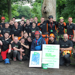 PRESS RELEASE: Seddons Plant Helps Myerscough College to Conquer Mount Everest in Cancer Charity Fundraiser