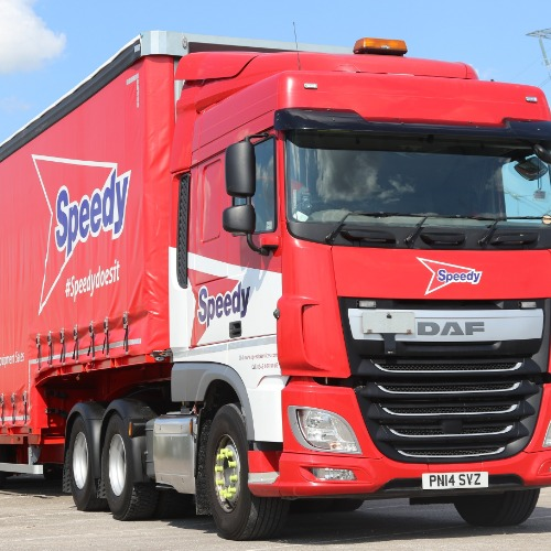 PRESS RELEASE: Speedy Hire Orders Four Curtainsiders From Cartwright to Create a Multi Purpose Delivery Solution