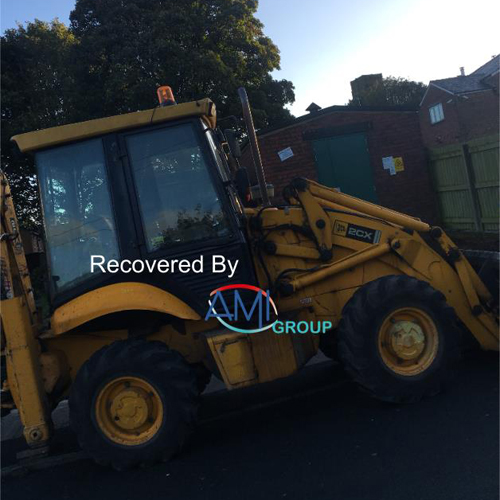 PRESS RELEASE: Stolen JCB 2CX Worth £25,000 Safely Recovered in Hours