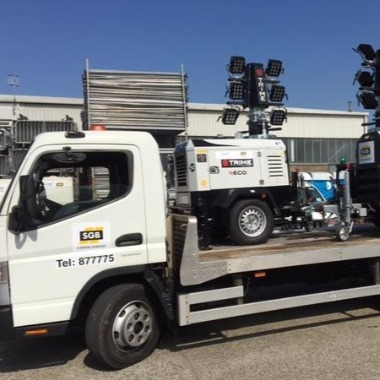 PRESS RELEASE: Trime Lighting Towers Head South to SGB Hire