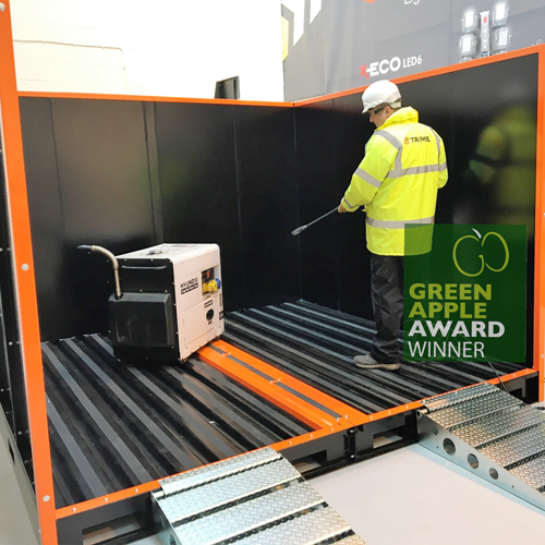 PRESS RELEASE: Trime UK are Set for a Green Apple Award for Their  X-Splash Wash Bay System