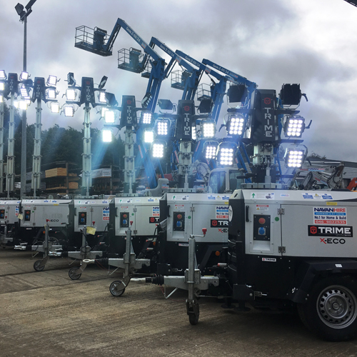 PRESS RELEASE: Trime's X-ECO LED Lights Are A Perfect Fit for Navan Hire
