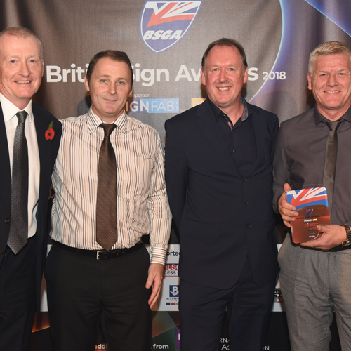 PRESS RELEASE: Wilson Access Supports British Sign Awards