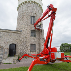 PRESS RELEASE: Wilson Access Track Mount Overcomes Challenges At Clifton Observatory