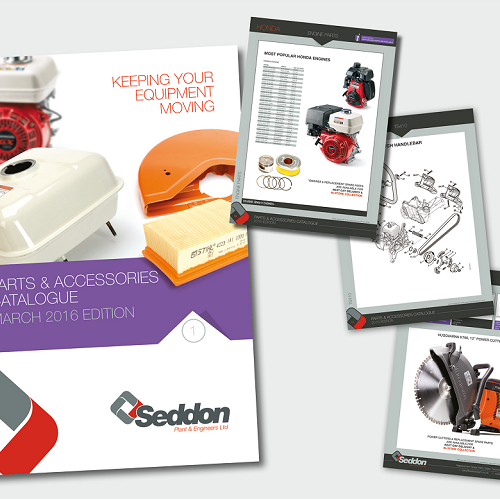 Seddons Plant & Engineers Launches New Parts and Accessories Catalogue