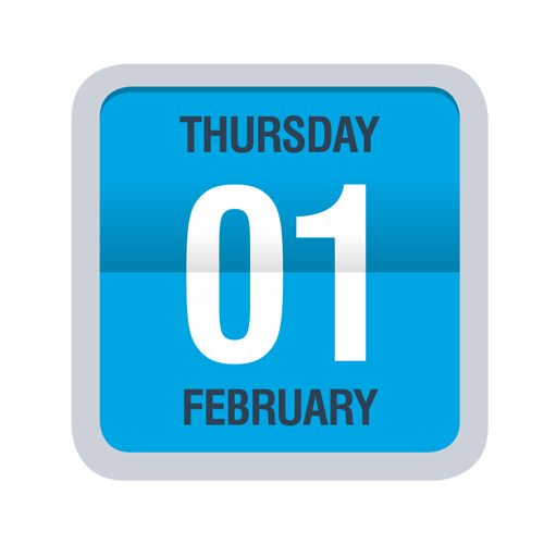 Save the Date Thrusday 1 February